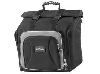 Soundwear Performer 2120 Akkordeon-Rucksack 120 Bass Gigbag, schwarz