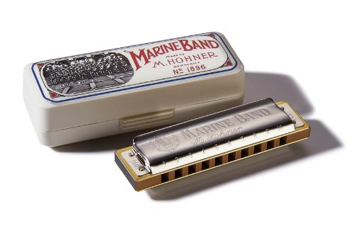 Hohner Mundharmonika Marine Band in A
