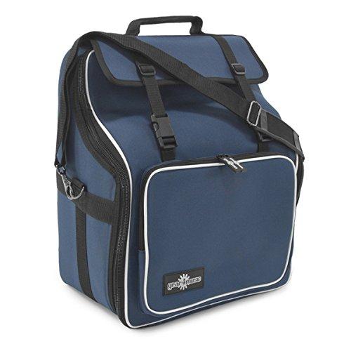 Deluxe-Tasche fur Akkordeons mit 27 Tasten und 24-48 Bassen von Gear4music