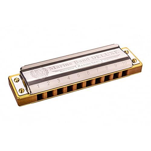 Hohner M200508X Marine Band Deluxe G Mundharmonika