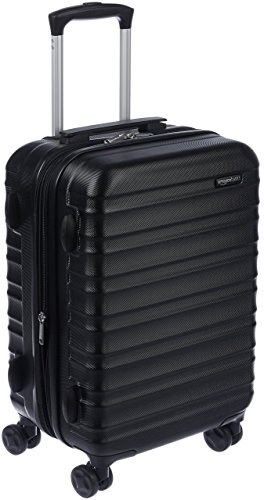 Amazon Basics Hartschalen - Koffer - 55 cm Handgepäckkoffer, Schwarz