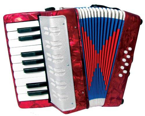 Scarlatti Kinder-Akkordeon Rot