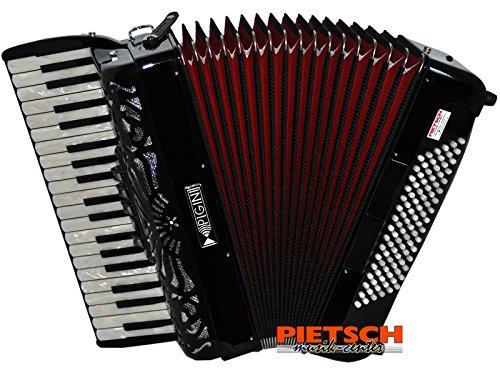 Pigini Akkordeon, Primavera P/75, Holzgelagerte Tastatur